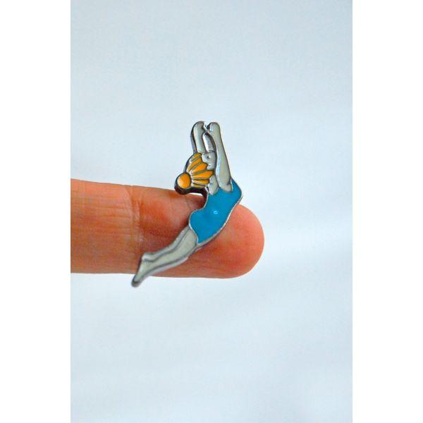 Yüzücü Kız Pin (I058)
