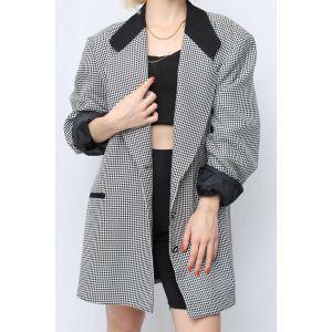 Oversize Blazer Ceket (C077)