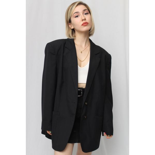 Siyah Blazer Ceket (C087)