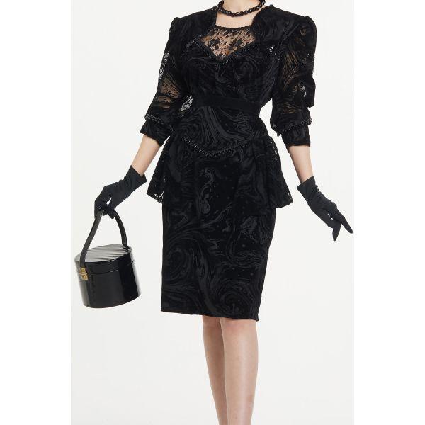 50'ler Elbise (B039)