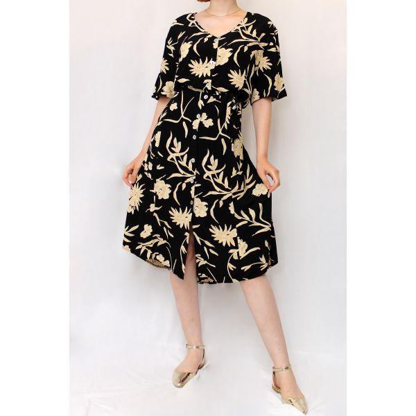 90'lar Vintage Elbise (B065)