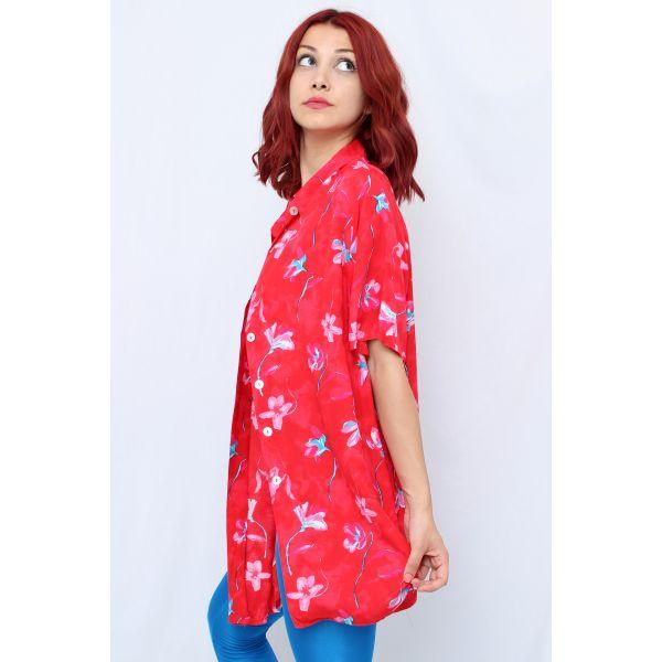 Çiçekli Gömlek (A188)
