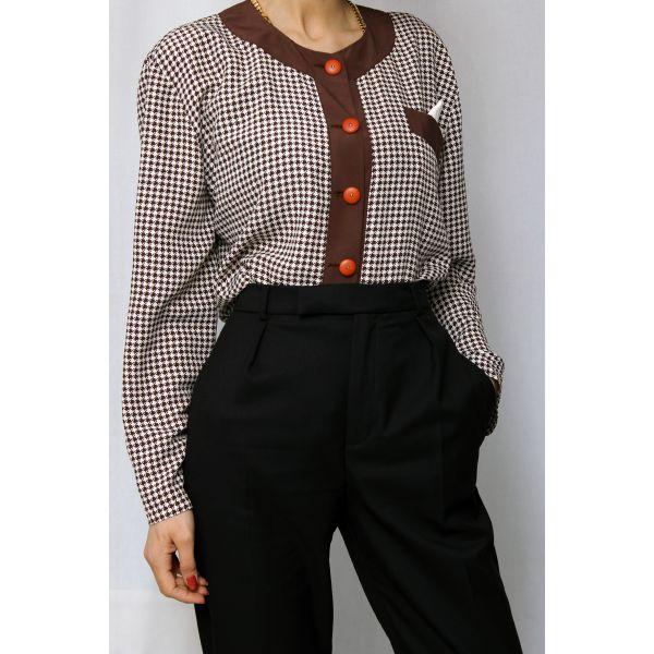 Eteği Volanlı Gömlek (A231)