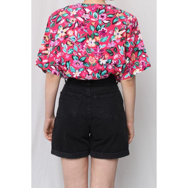 Floral Vintage Gömlek (A449)