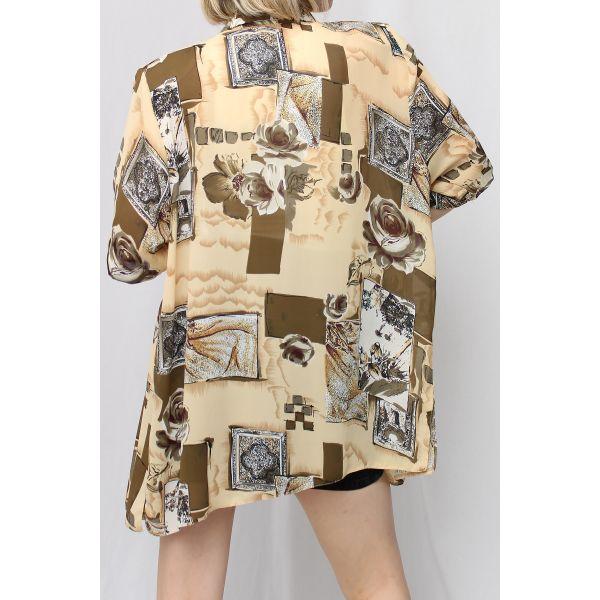 Tablo Desenli Vintage Gömlek (A460)