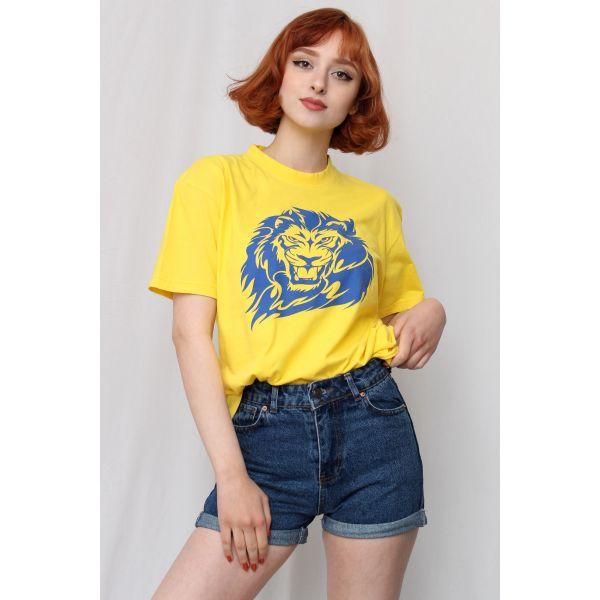 Mavi Aslan Tshirt (F068)